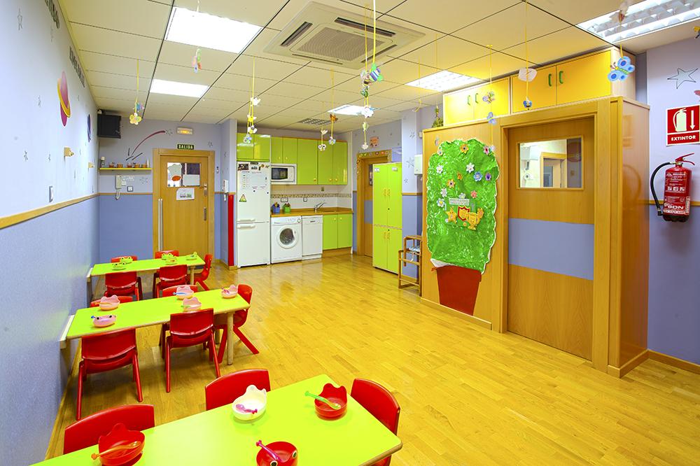 Aula Comedor Escuela Infantil Educamar